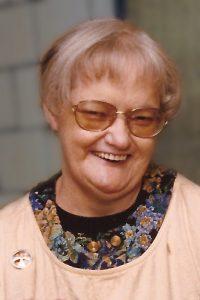 Sister Regina Orner with smile