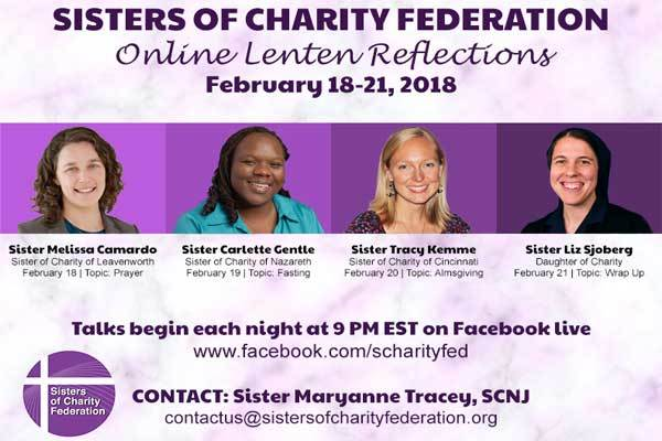 Sisters of Charity Federation Lenten Reflections