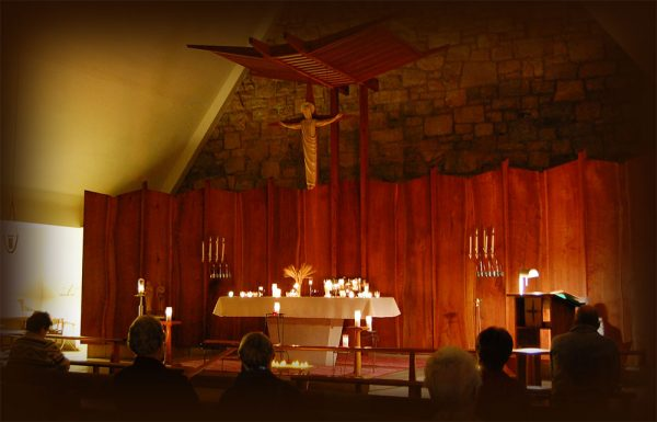 Taize Prayer for Peace at the Queen of Peace Chapel