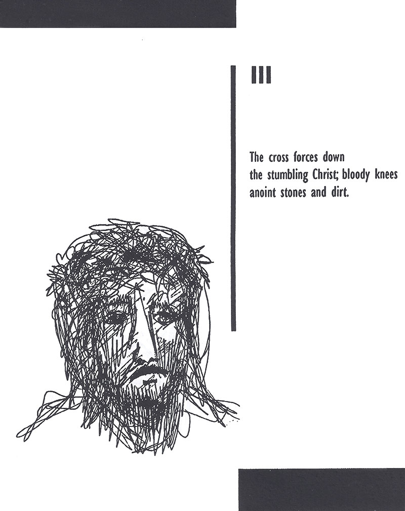 Stations of the cross - The 3rd Station
