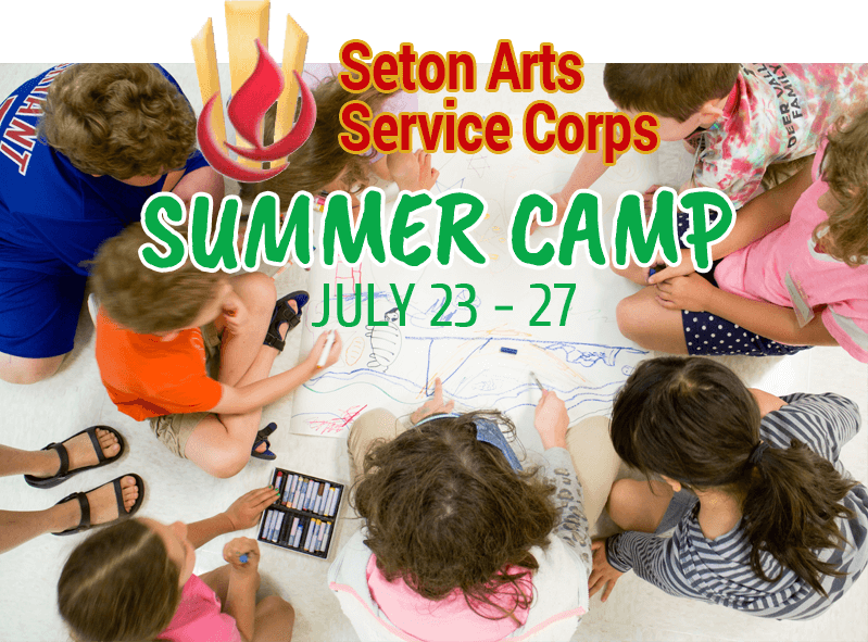 Seton Arts summer camp 2018